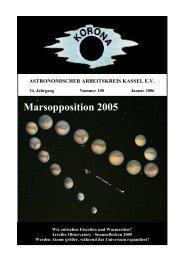 Marsopposition 2005 - Sternwarte Calden Kassel