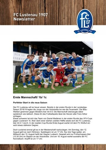 FC Letter Nr. 124