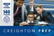 2018-19 Creighton Prep Viewbook