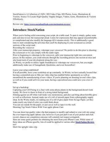 StockNation Review Do we like it