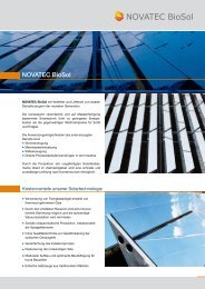 (182 kB) NOVATEC BIOSOL-Unternehmen.pdf - PresseBox