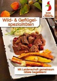 Wild- und Geflügelspezialitäten 2018