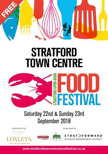 Stratford Town Centre Food Festival 2018