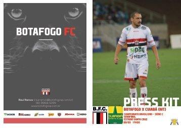 PRESS KIT: Botafogo x Cuiabá (MT) - Semifinal - Série C