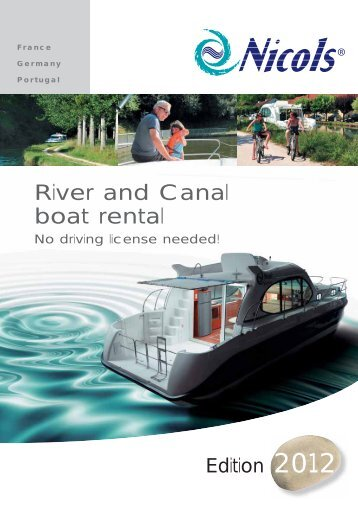 River and Canal boat rental - Inter Croisieres
