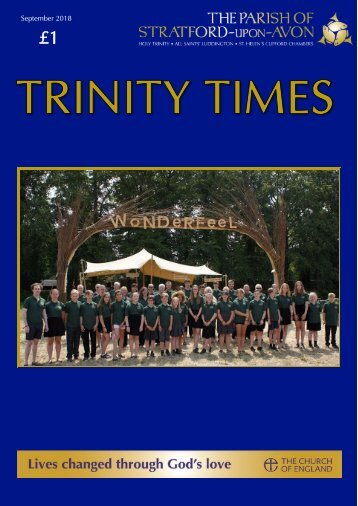 Trinity Times September 2018 edition (Colour version Final )