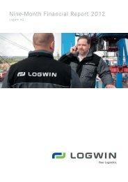 Nine-Month Financial Report 2012 (*pdf, 2.1 mb - Logwin AG
