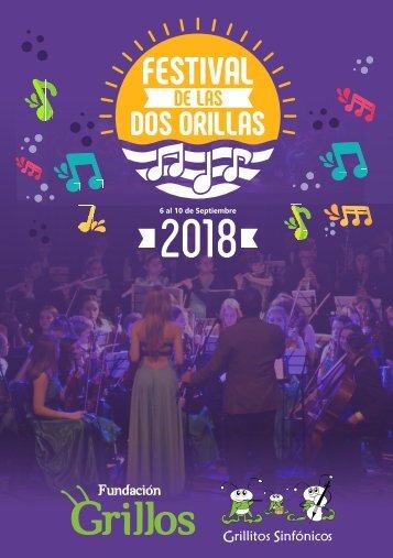 Programa Festival de las Dos Orillas 2018