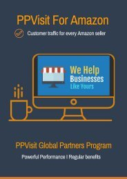 PPVisit Partners to Increase Amazon Sales