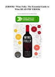 (EBOOK Wine Folly The Essential Guide to Wine READ PDF EBOOK