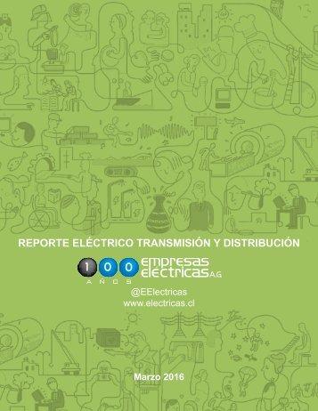 REPORTE ELÉCTRICO MARZO 2016