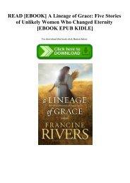Lineage Of Grace Ebook