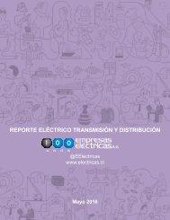 REPORTE ELÉCTRICO MAYO 2016