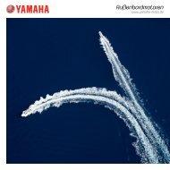 Gesamtprospekt Außenbordmotoren 2012 - Yamaha Motor Europe