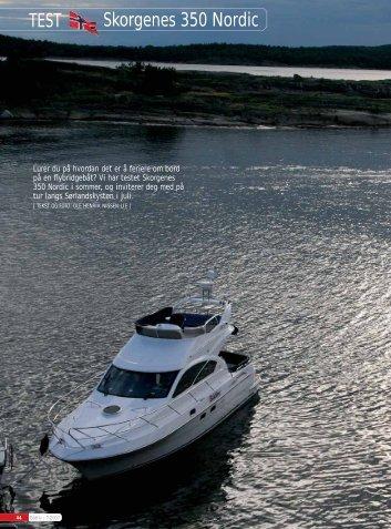Ferieliv på øverste hylle - Skorgenes Boats AS