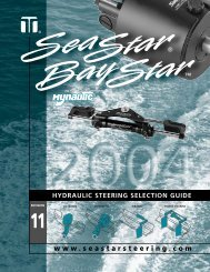hydraulic steering selection guide - Fishing Catalog.com