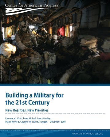 Building a Military for the 21st Century - Center for American Progress