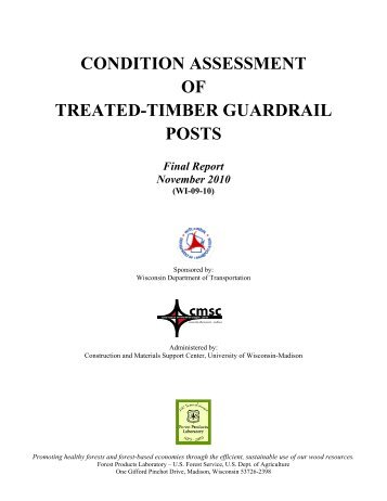 wood and timber condition assessment manual