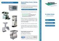 Neuanschaffung - Service - Wartung Eichdienst - Batsch EDV