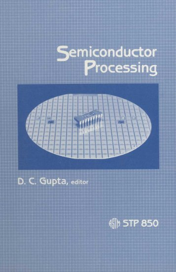 Semiconductor Processing - ASTM International