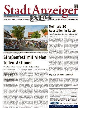 Stadtanzeiger Extra kw 36