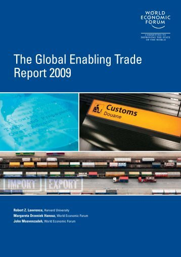 The Global Enabling Trade Report 2009 - World Economic Forum