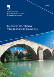Le canton de Fribourg vous souhaite la bienvenue - carrière 2