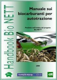 Manuale sui biocarburanti per autotrazione - CTI Comitato ...