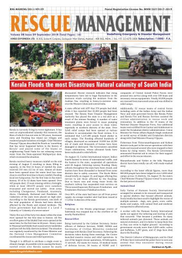 Rescue Management September 2018