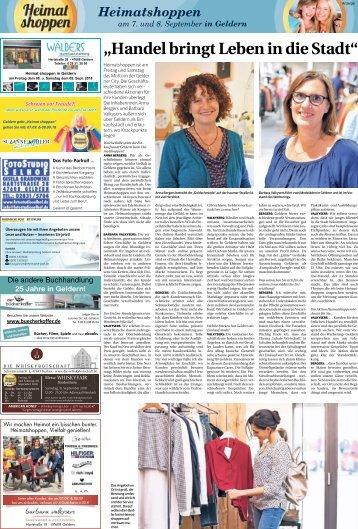 Heimatshoppen in Geldern - 07.09.2018