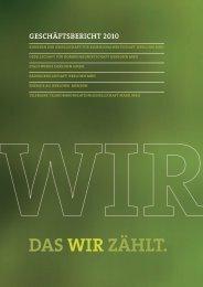 Geschäftsbericht 2010 - Stadtwerke Iserlohn