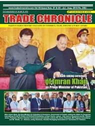 Trade Chronicle July - August 2018