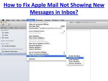 How to Fix Apple Mail Not Showing New Messages in Inbox