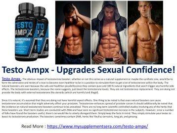 Testo Ampx - Enhances Your Libido!