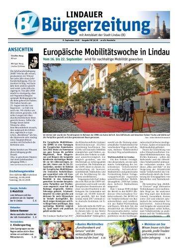 08.09.2018 Lindauer Bürgerzeitung
