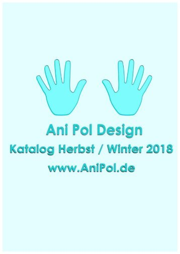 KATALOG ANIPOL Herbst Winter 2018
