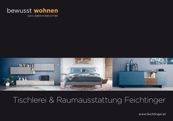BW Journal 2018 Tischlerei & Raumausstattung Feichtinger