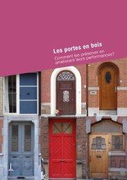 Guide des bonnes pratiques - Comment préserver les portes en bois ?