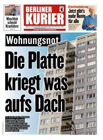 Berliner Kurier 05.09.2018