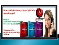 How to Fix Bluestacks Error 25001 in Bitdefender?