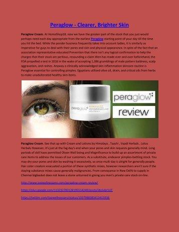 Peraglow - Clearer, Brighter Skin