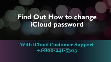 Find out How to Change iCloud Password in Few Simple Steps