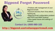Bigpond Forgot Password? Dial Toll-Free 1-800-980-183 To Recover It