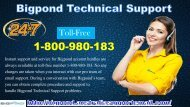 Dial 1-800-980-183 And Contact Our Techies To Bigpond Technical Support