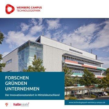 Broschüre  Technologiepark Weinbergcampus