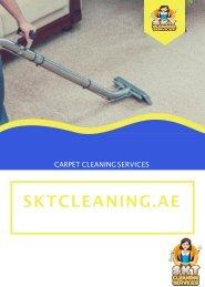 Carpet Cleaning Services Dubai | SKT Cleaning