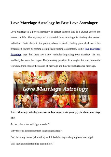 When i got married by astrology  Best Dates to Marry Using