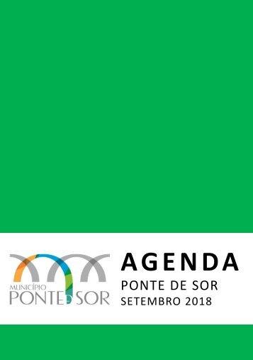 Agenda Ponte de Sor - setembro 2018