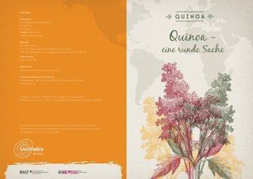Broschüre Quinoa