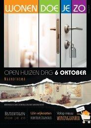 WonenDoeJeZo in Zuid-West Nederland, #oktober 2018